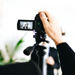Seminar Auftritte in Webkonferenzen und Videoauftritten.